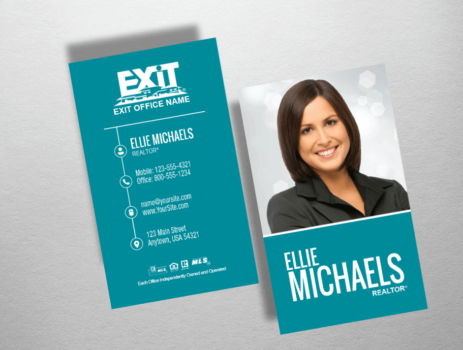 Exit Realty Business Cards | Exit Realty Business Card Style EXR217