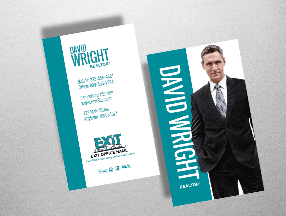 Exit Realty Business Cards | Exit Realty Business Card Style EXR231