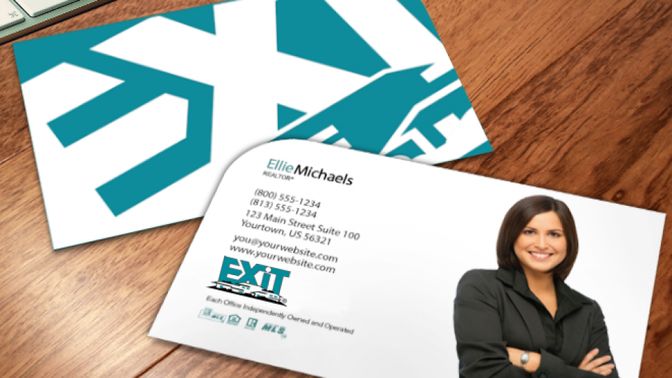 Modern Designs | Exit Realty Business Cards