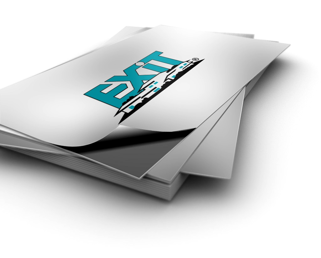 Business Card Stickers | Exit Realty Business Cards