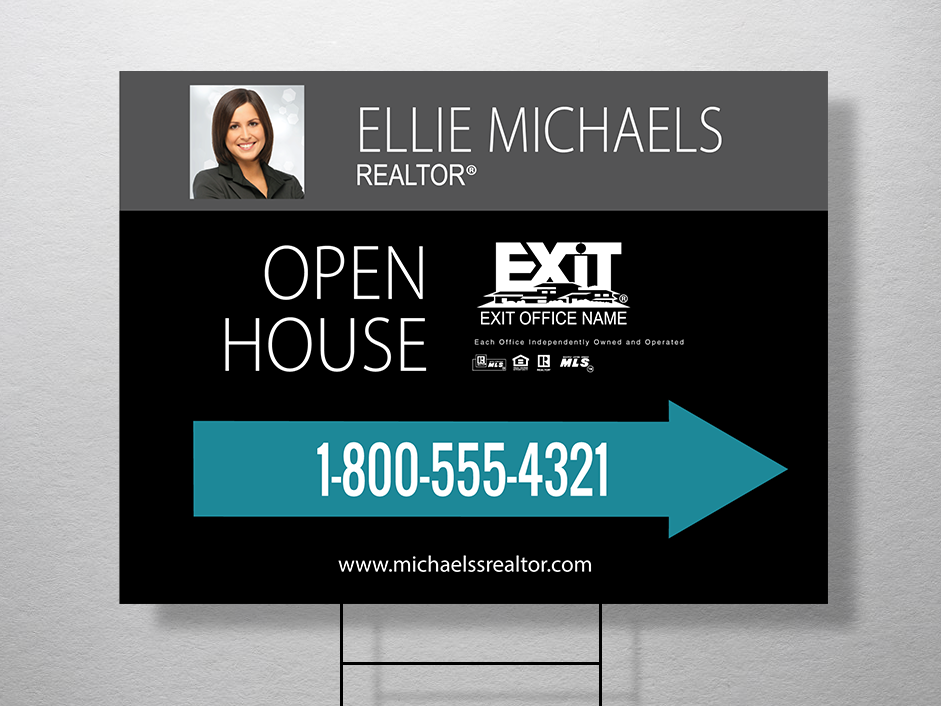 Order Exit Yard Signs | Free Shipping | Design Templates | Exit ...