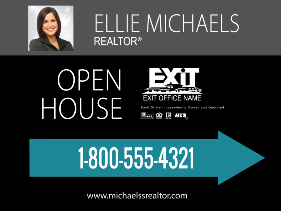 Exit Realty Business Cards | Product Tags | yard sign