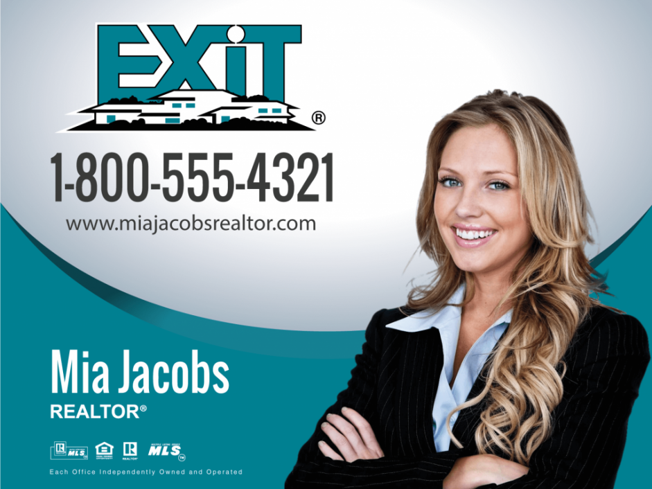 Exit Realty Business Cards | Product Tags | car magnet