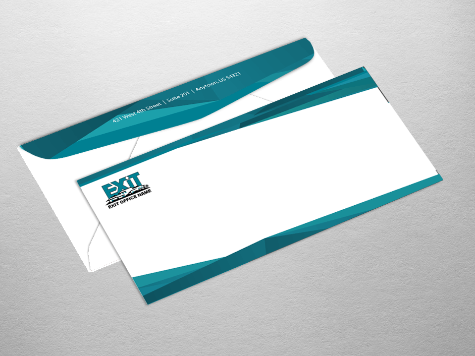 Exit Realty Business Cards | Product Tags | envelope