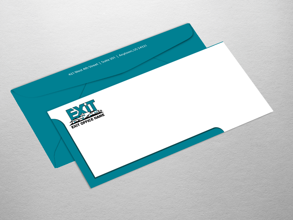 Exit realty business cards product categories envelope for Realty business cards