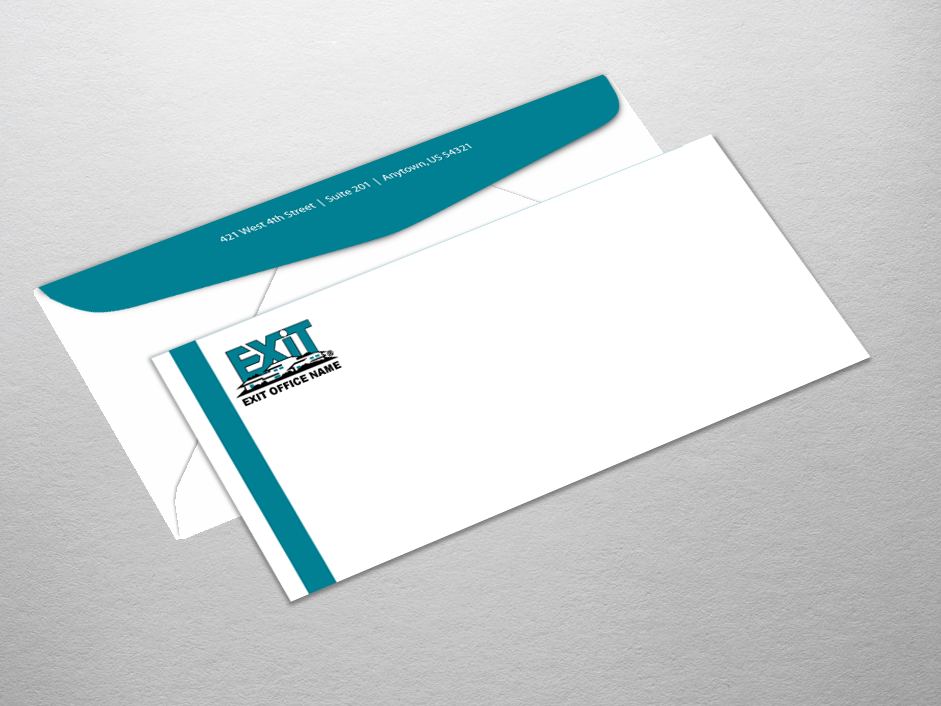 Very Exit Realty Business Cards | Product Tags | envelope KD98