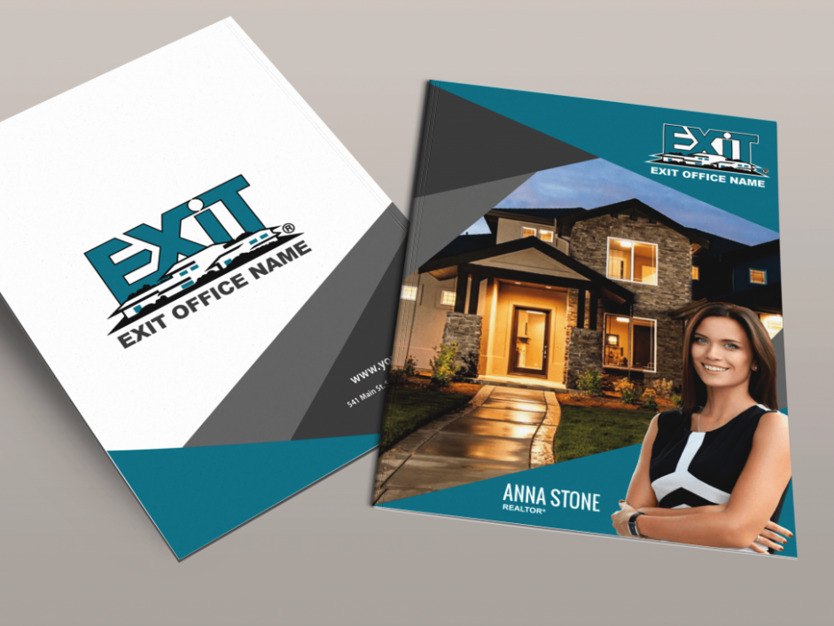Exit Realty Business Cards   Product Tags   folder