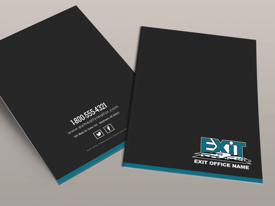 Exit realty business cards exit realty folder style exr01 exit realty folder style exr05 colourmoves