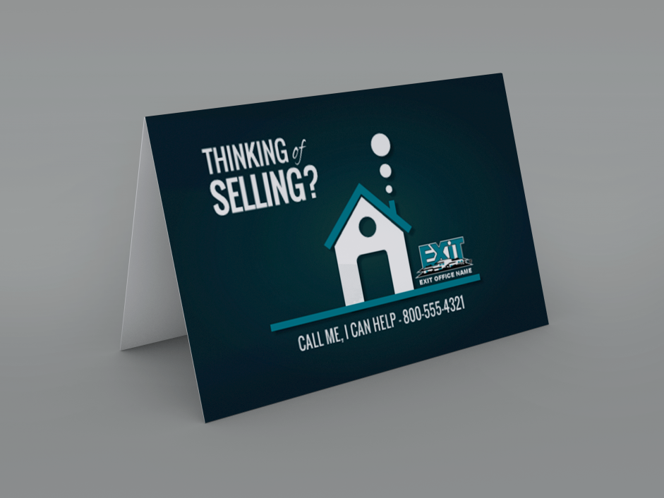 Order Exit Notecards | Greeting Card Design Templates | Exit Realty ...