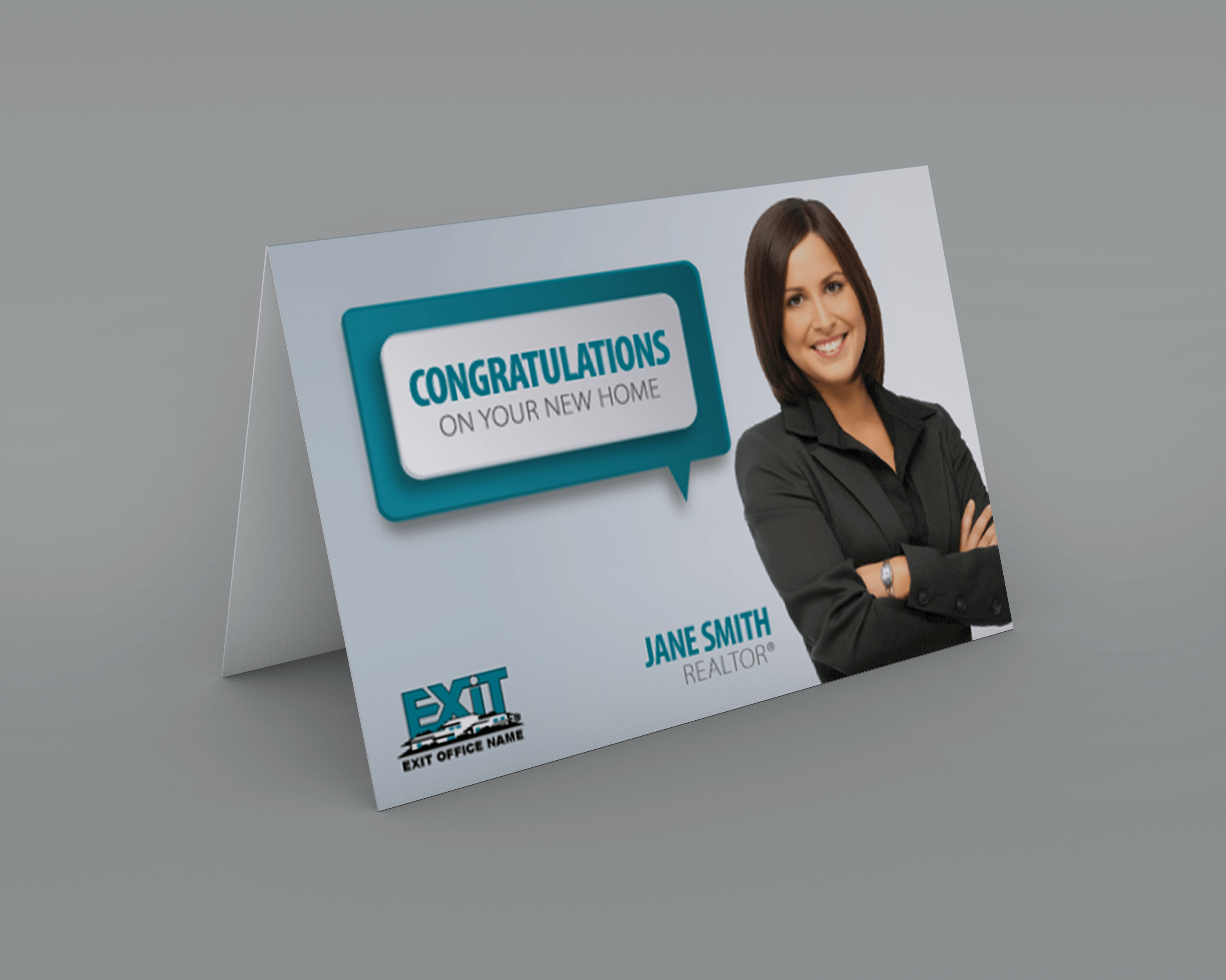 Exit realty business cards exit realty notecard style exr07 for Realty business cards