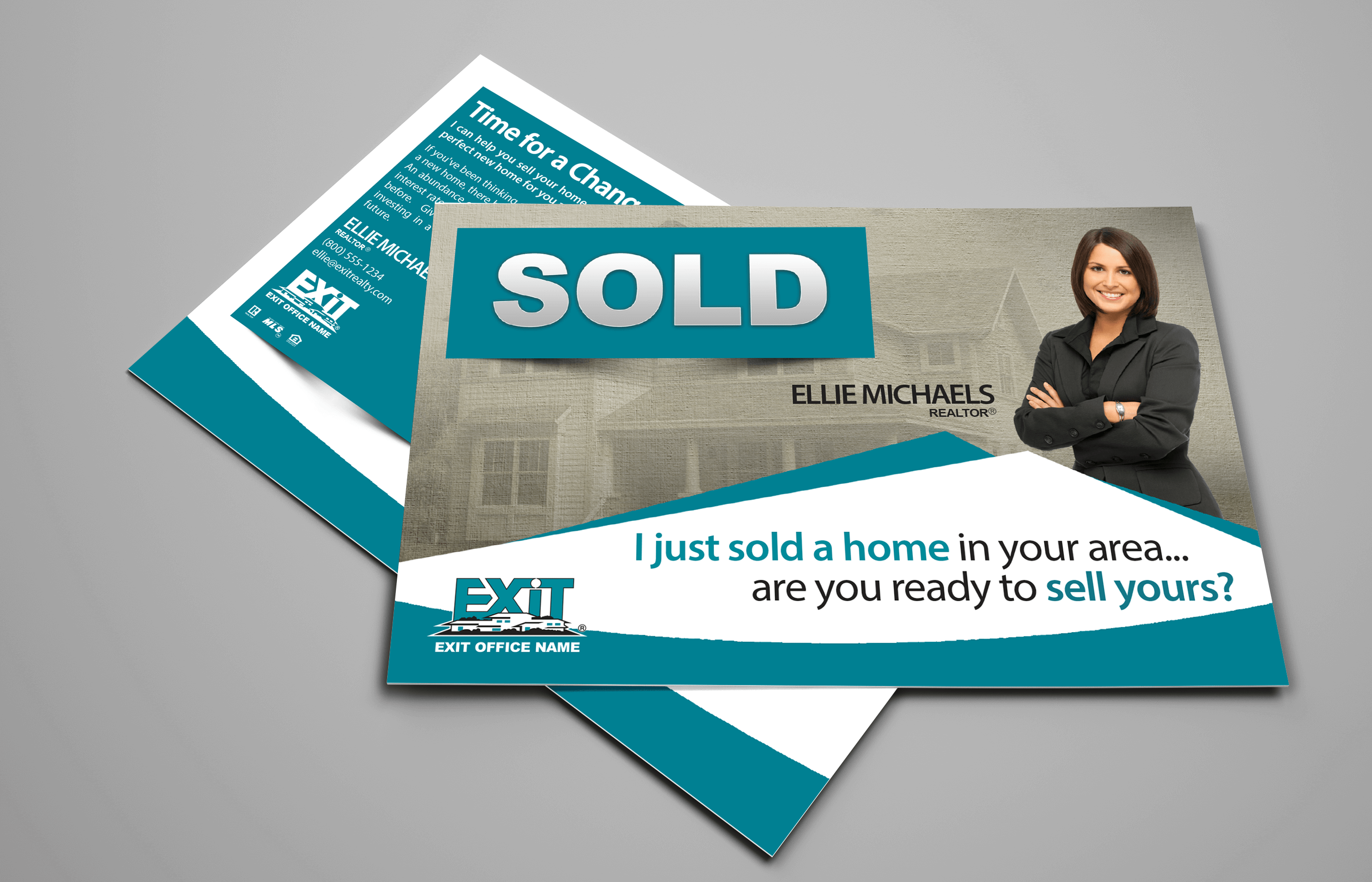 Exit Realty Business Cards   Exit Realty Postcard Style EXR02